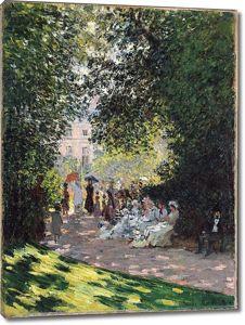 Моне Клод. Парк Монсо 01, 1878