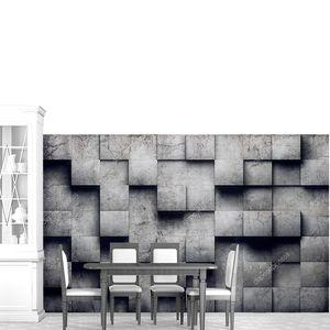 Абстрактные бетонные стены