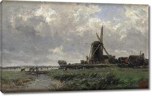 Аэс Карлос де. Голландская мельница