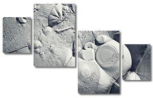 Монохромный текстура льда, Фрост