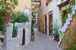 Улица старого города Ханья. Греция. Крит