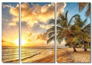 Закатные часы на Барбадосе