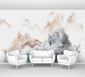 Клубья цветного дыма