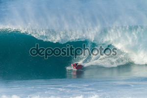 серфинг бодиборд волна