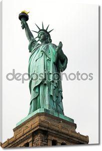 Статуя свободы.