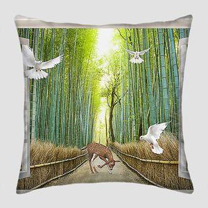 Бамбуковая тропа в распахнутом окне