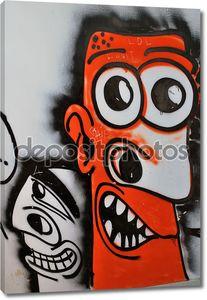 Смешные граффити