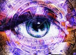 Древний календарь майя и женский глаз