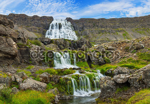 Dynjandi. Исландия