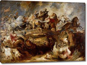 Рубенс. Битва греков с амазонками
