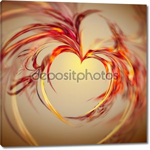 Абстрактного сердца