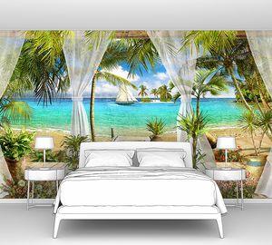 Открытая терраса на пляже