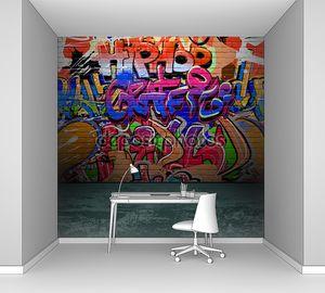 граффити стены городского уличного искусства живопись