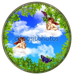 Ангелы с облаками