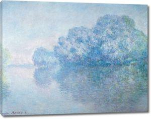 Моне Клод. Сена возле Живерни (Остров Orties), 1897