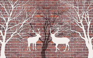Переплетение ветвей и рогов