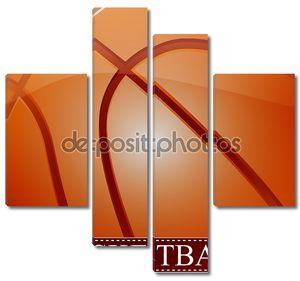 Фон баскетбольный