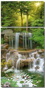 Водные струи по камням