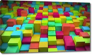 Абстрактный красочных кубиков
