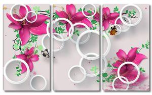 Кольца с лилиями