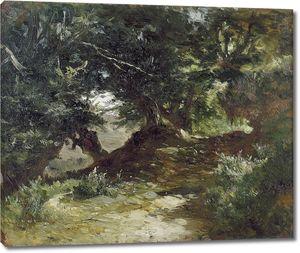 Аэс Карлос де. Горная дорога в Астурии