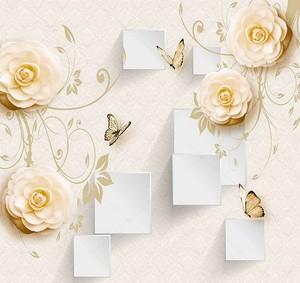 Квадраты и цветы