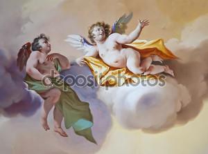 Религиозная фреска