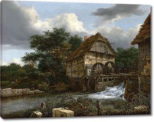 Рейсдаль (Рейсдал) Якоб. Водяная мельница