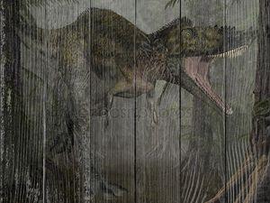 Alioramus - 3D динозавров
