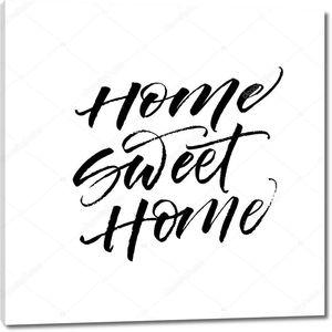 Home sweet home card.