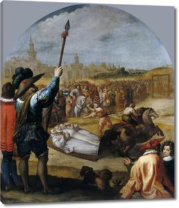 Кардучо Висенте. Мученичество трех картезианских монахов в Лондоне