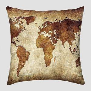 Гранж-фон с континентами
