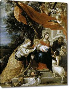 Сересо Матео. Мистический брак Святой Екатерины
