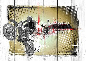 Мотокросс плакат