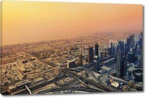 закат Дубая