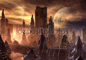 Иностранный город
