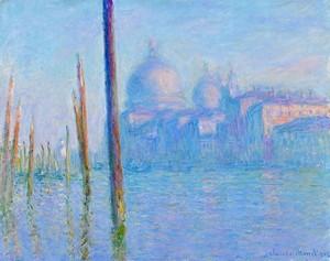 Моне Клод. Гранд-канал в Венеции, 1908 04