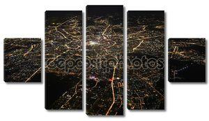 Москва в ночное время