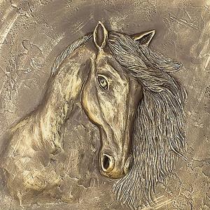 Объемная голова лошади