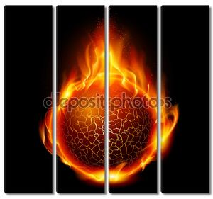 шар огня