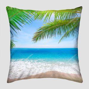 Солнце в пальмовых листья