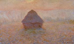 Клод Моне. Грейнстек, Солнце в тумане