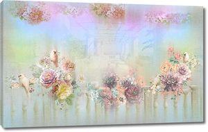 Нежнейшая композиция из цветов
