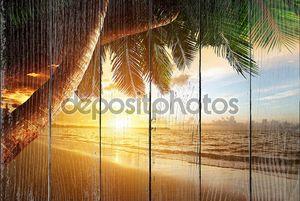 Восход солнца на Карибском побережье