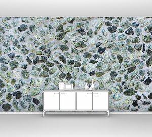 Декоративная текстура серой каменной стены