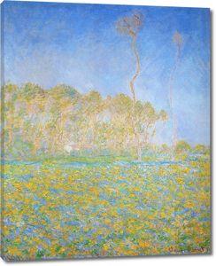 Моне Клод. Весна, Пейзаж, 1894