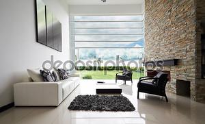 Дизайн интерьера серии: современная гостиная