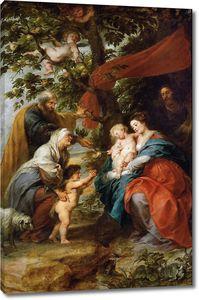 Рубенс. Святое семейство под яблоней