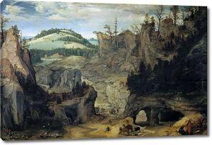 Далем Корнелис ван. Пейзаж с пастухами