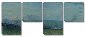 Ван Гог. Закат на Монмартре